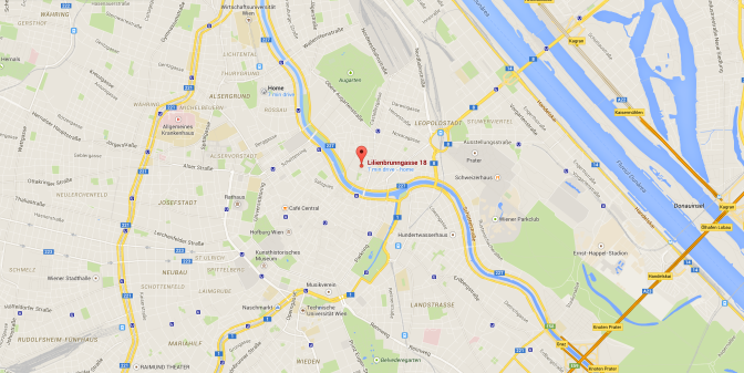 Directions to today's meetup Schraubenfabrik Lilienbrungasse 18 1020…