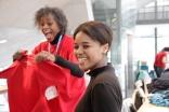 Volunteers, our Heros, at #wcvie