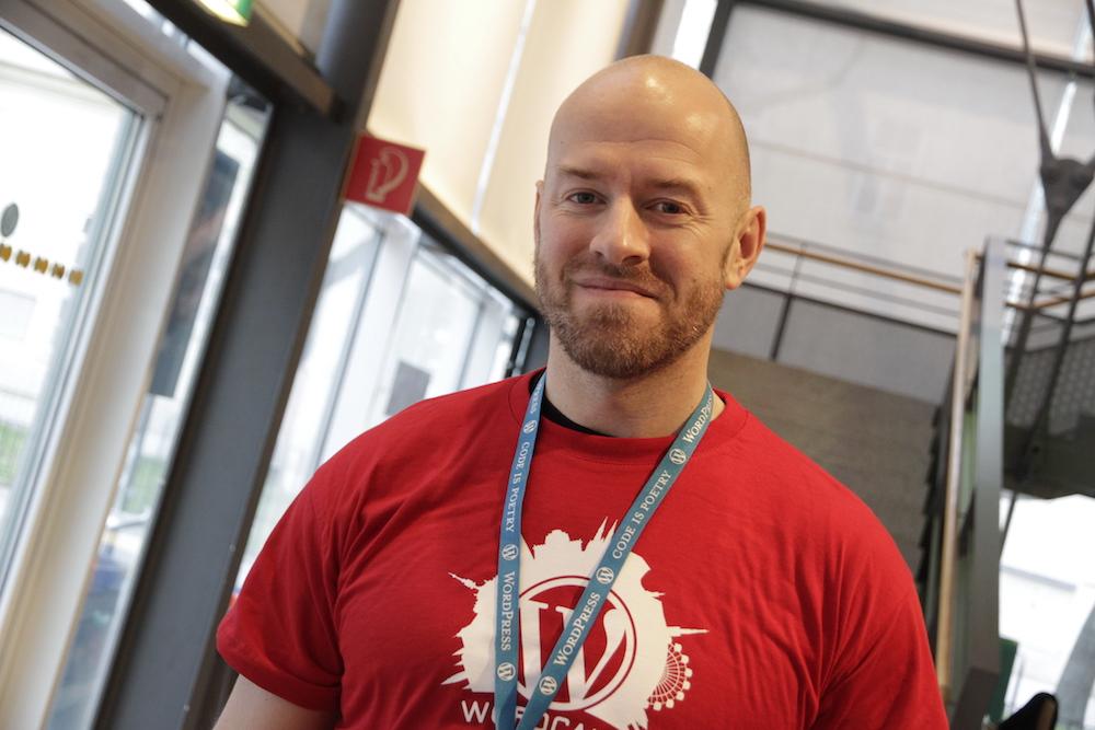 Stefan Krajczar, organiser and speaker at #wcvie 2017