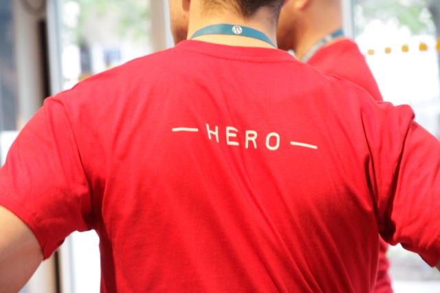 Definition for a real HERO: organizer, volunteer, or speaker at #wcvie 2017